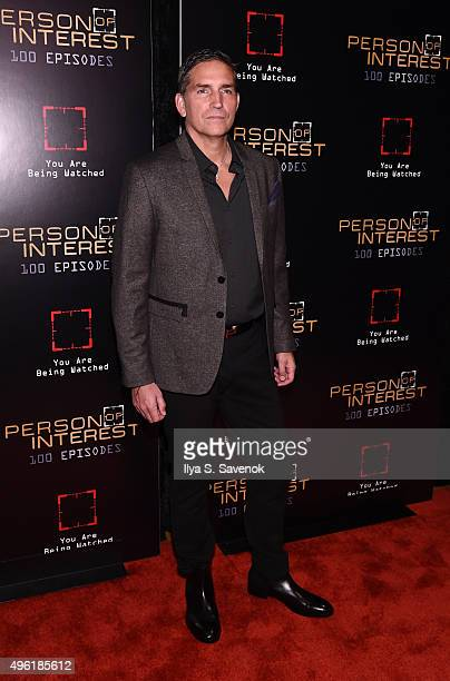 Actor Jim Caviezel attends 'Person Of Interest' 100th Episode Celebration at 230 Fifth Avenue on November 7 2015 in New York City