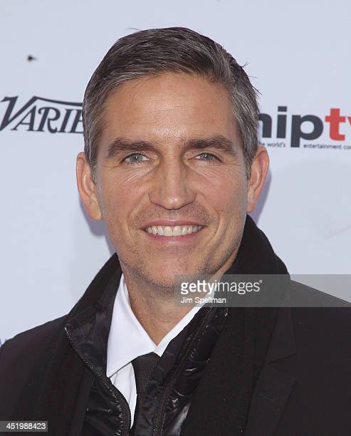 Actor Jim Caviezel attends the 41st International Emmy Awards at the Hilton New York on November 25 2013 in New York City