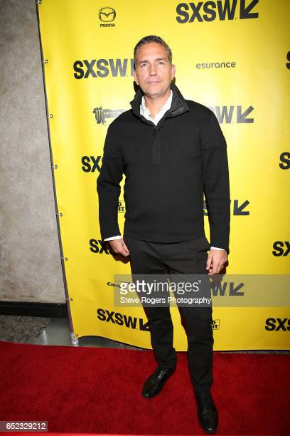 Actor Jim Caviezel attends the premiere of 'The Ballad of Lefty Brown' during 2017 SXSW Conference and Festivals at Stateside Theater on March 11...