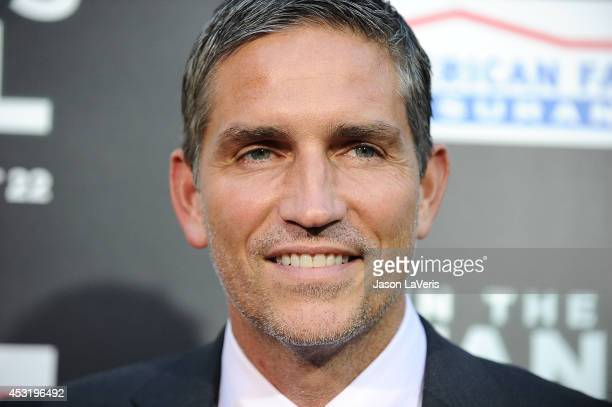 """Actor Jim Caviezel attends the premiere of """"When The Game Stands Tall"""" at ArcLight Hollywood on August 4, 2014 in Hollywood, California."""