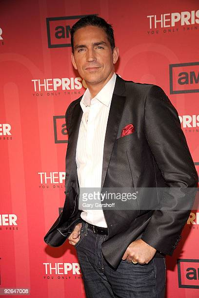 Actor Jim Caviezel attends 'The Prisoner' New York screening at the IFC Center on November 3 2009 in New York City