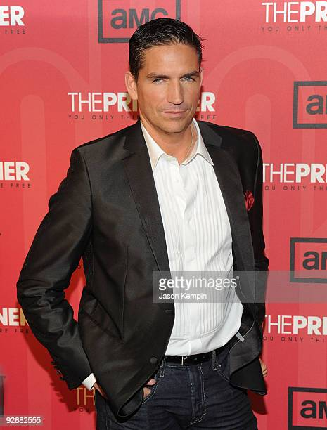 Actor Jim Caviezel attends The Prisoner New York screening at the IFC Center on November 3 2009 in New York City