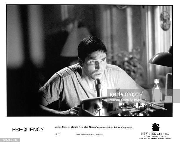 Actor Jim Caviezel in a scene from the New Line Cinema movie Frequency circa 2000