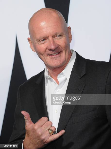 Actor Jim Courtney arrives for the Universal Pictures' 'Halloween' Premiere held at TCL Chinese Theatre on October 17 2018 in Hollywood California