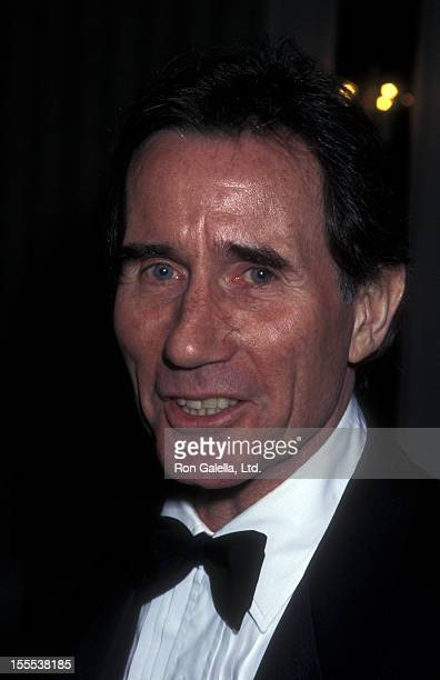 Actor Jim Dale and wife Julia Schafler attend 25th Anniversary Gala for Manhattan Theater Club on May 12 1997 at the New York Hilton Hotel in New...