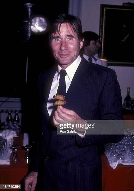 Actor Jim Dale attends the opening party for Edmund Kean on September 27 1983 at the Players Club in New York City