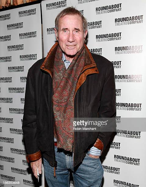 Actor Jim Dale attends the 'The Mystery Of Edwin Drood' Broadway Opening Night at Roundabout Theatre Company's Studio 54 on November 13 2012 in New...
