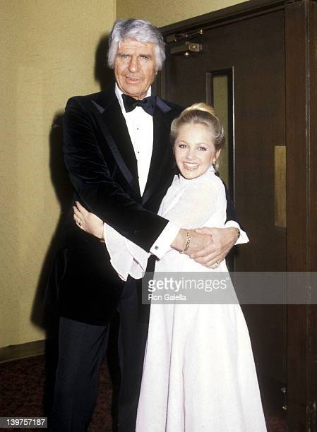 Actor Jim Davis and Actress Charlene Tilton attend the Sixth Annual People's Choice Awards on January 24 1980 at Hollywood Palladium in Hollywood...