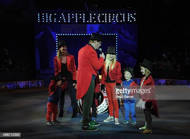 Actor Jim Gaffigan Jeannie Gaffigan Katie Louise Gaffigan Michael Gaffigan Patrick Gaffigan Marre Gaffigan and Jack Gaffigan attend the Big Apple...