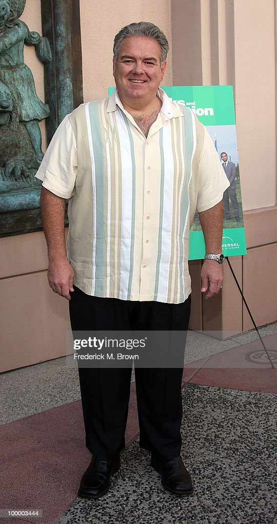 Actor Jim O'Heir attends the screening of 'Parks and Recreation' at the Leonard H. Goldenson Theatre on May 19, 2010 in North Hollywood, California.