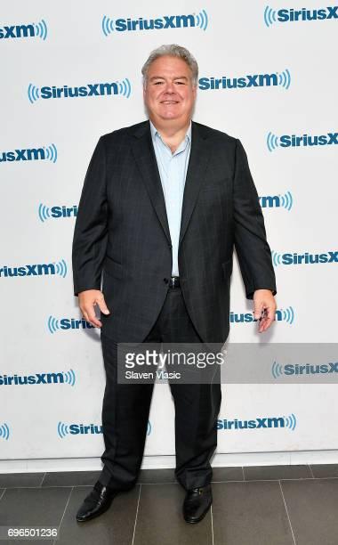 Actor Jim O'Heir visits SiriusXM Studios on June 15 2017 in New York City