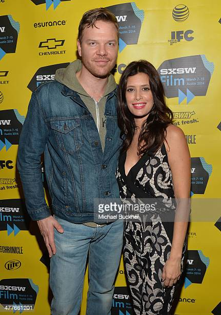 """Actor Jim Parrack and actress Angie Cepeda attend the screening of """"A Night In Old Mexico"""" during the 2014 SXSW Music, Film + Interactive Festival""""..."""