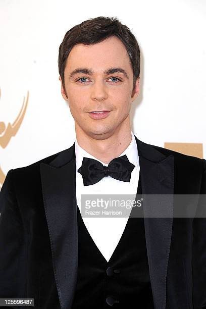 Actor Jim Parsons arrives at the 63rd Annual Primetime Emmy Awards held at Nokia Theatre LA LIVE on September 18 2011 in Los Angeles California