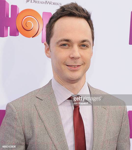 Actor Jim Parsons arrives at the Los Angeles Premiere 'HOME' at Regency Village Theatre on March 22 2015 in Westwood California