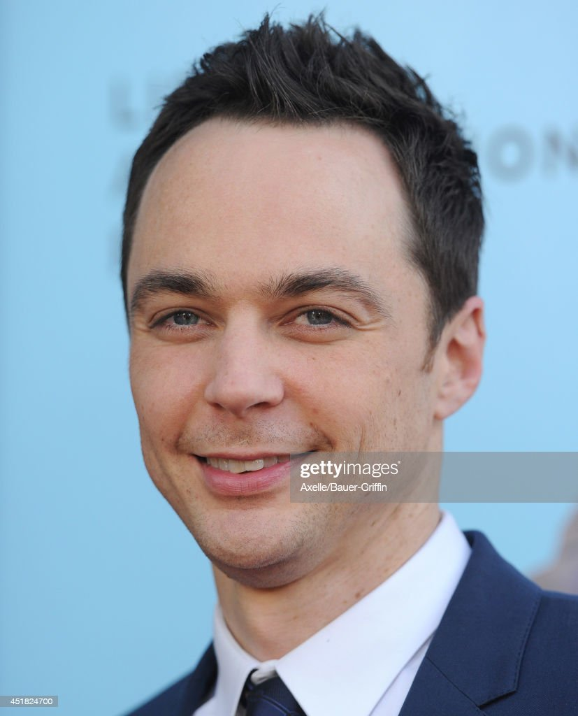 Actor Jim Parsons arrives at the Los Angeles Premiere 'Wish I Was Here' at the DGA Theater on June 23, 2014 in Los Angeles, California.