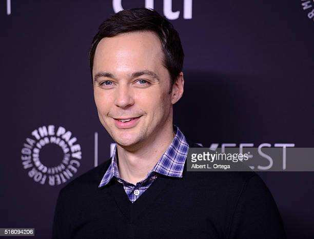 Actor Jim Parsons arrives for the The Paley Center For Media's 33rd Annual PaleyFest Los Angeles 'The Big Bang Theory' held at Dolby Theatre on March...