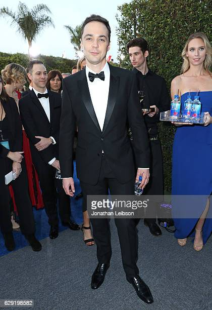 Actor Jim Parsons at the 22nd Annual Critics' Choice Awards presented by Landmark Vineyards at Barker Hangar on December 11 2016 in Santa Monica...