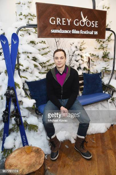 Actor Jim Parsons attends as Grey Goose Blue Door hosts the casts of gamechanging films during the Sundance Film Festival at The Grey Goose Blue Door...
