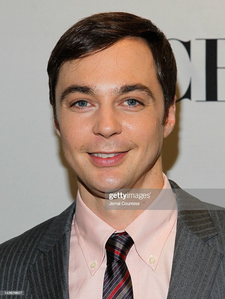 Actor Jim Parsons attends the 2012 Tony Awards Nominations Announcement at The New York Public Library for Performing Arts on May 1, 2012 in New York City.