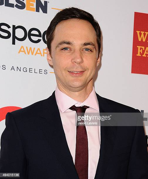 Actor Jim Parsons attends the 2015 GLSEN Respect Awards at the Beverly Wilshire Four Seasons Hotel on October 23 2015 in Beverly Hills California