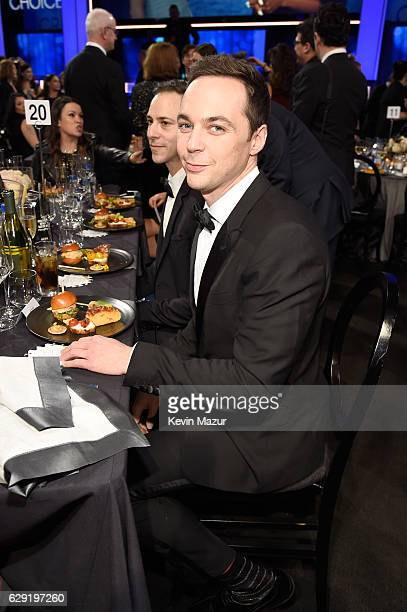 Actor Jim Parsons attends The 22nd Annual Critics' Choice Awards at Barker Hangar on December 11 2016 in Santa Monica California