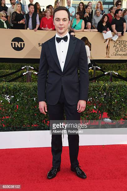 Actor Jim Parsons attends the 23rd Annual Screen Actors Guild Awards at The Shrine Expo Hall on January 29 2017 in Los Angeles California