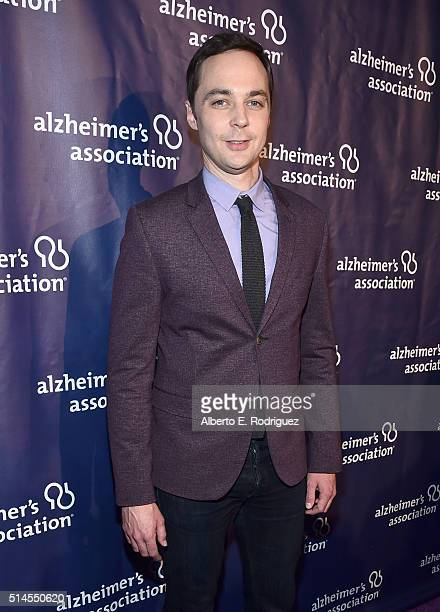 Actor Jim Parsons attends the 24th and final A Night at Sardi's to benefit the Alzheimer's Association at The Beverly Hilton Hotel on March 9 2016 in...