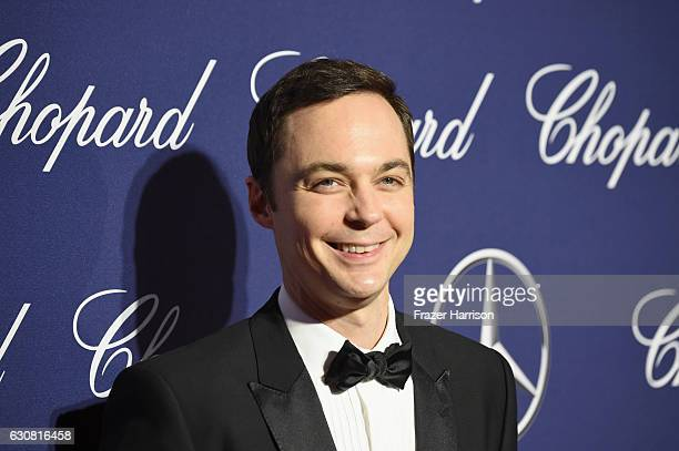 Actor Jim Parsons attends the 28th Annual Palm Springs International Film Festival Film Awards Gala at the Palm Springs Convention Center on January...
