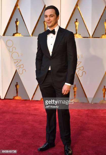 Actor Jim Parsons attends the 89th Annual Academy Awards at Hollywood Highland Center on February 26 2017 in Hollywood California