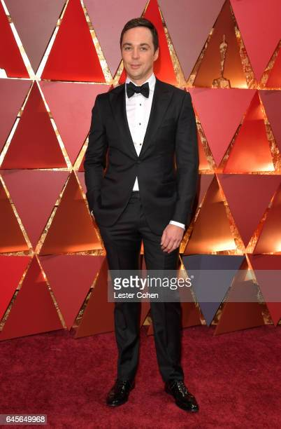Actor Jim Parsons attends the 89th Annual Academy Awards at Hollywood & Highland Center on February 26, 2017 in Hollywood, California.