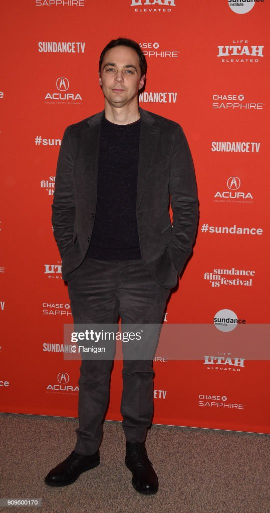 Actor Jim Parsons attends the 'A Kid Like Jake' Premiere during the 2018 Sundance Film Festival at Eccles Center Theatre on January 23, 2018 in Park City, Utah.