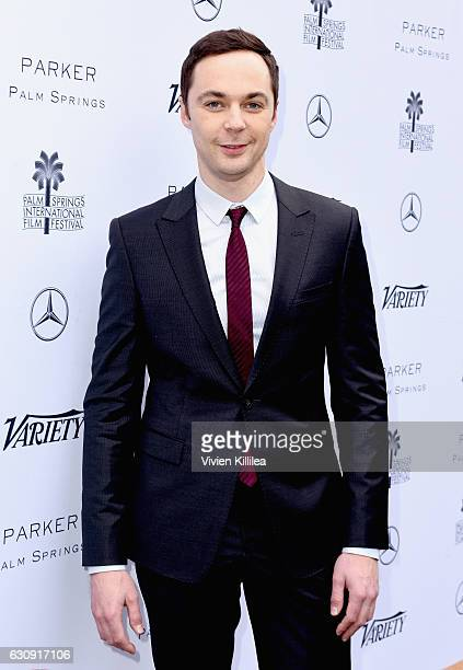 Actor Jim Parsons attends Variety's Creative Impact Awards and 10 Directors to Watch Brunch presented by MercedesBenz at the 28th Annual Palm Springs...