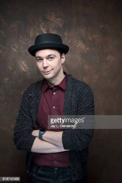 Actor Jim Parsons from the film 'A Kid Like Jake' is photographed for Los Angeles Times on January 21 2018 in the LA Times Studio at Chase Sapphire...