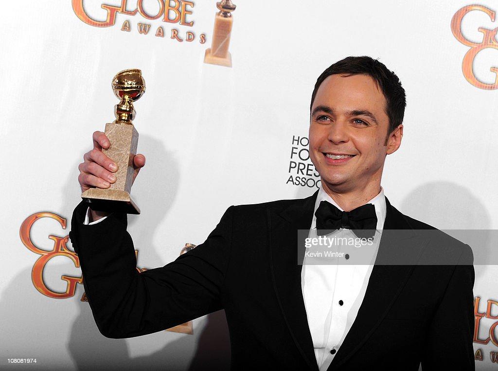 68th Annual Golden Globe Awards - Press Room : News Photo
