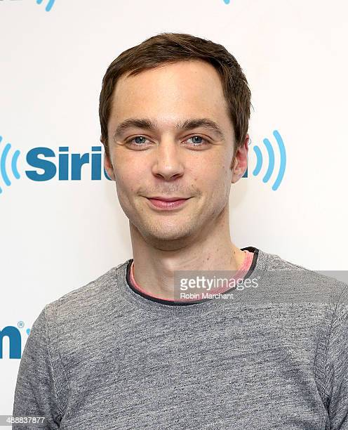 Actor Jim Parsons visits at SiriusXM Studios on May 8 2014 in New York City