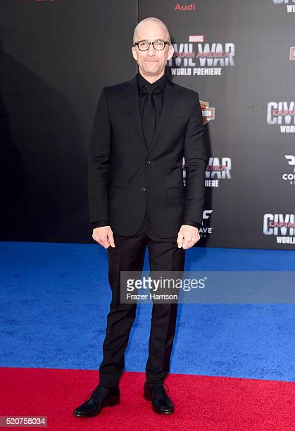 Actor Jim Rash attends the premiere of Marvel's 'Captain America Civil War' at Dolby Theatre on April 12 2016 in Los Angeles California
