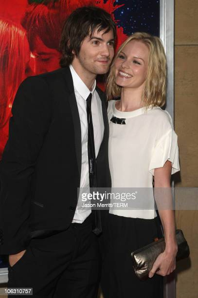 Actor Jim Sturgess and actress Kate Bosworth arrive for a special screening of 'Across The Universe' at the El Capitan Theatre on September 18 2007...