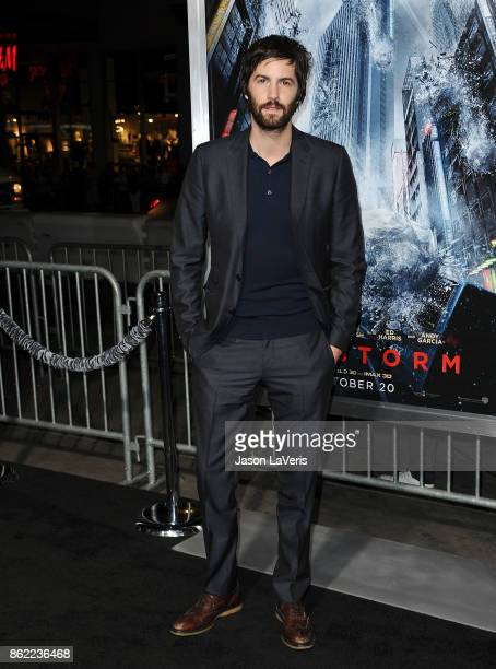Actor Jim Sturgess attends the premiere of Geostorm at TCL Chinese Theatre on October 16 2017 in Hollywood California