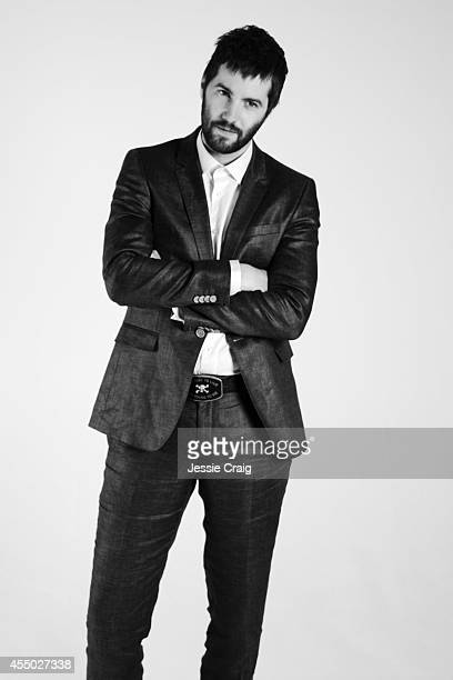 Actor Jim Sturgess is photographed for SID magazine on June 5 2014 in London England