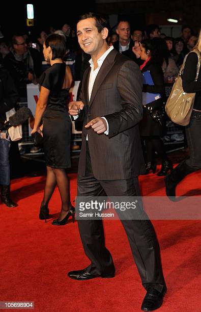 Actor Jimi Mistry attends the West Is West premiere during the 54th BFI London Film Festival at the Vue West End on October 19 2010 in London England