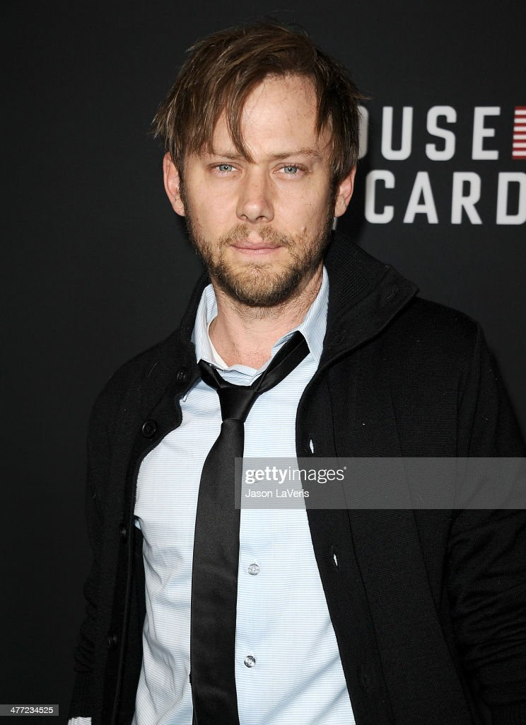 Actor Jimmi Simpson attends a screening of 'House Of Cards' at Directors Guild Of America on February 13, 2014 in Los Angeles, California.