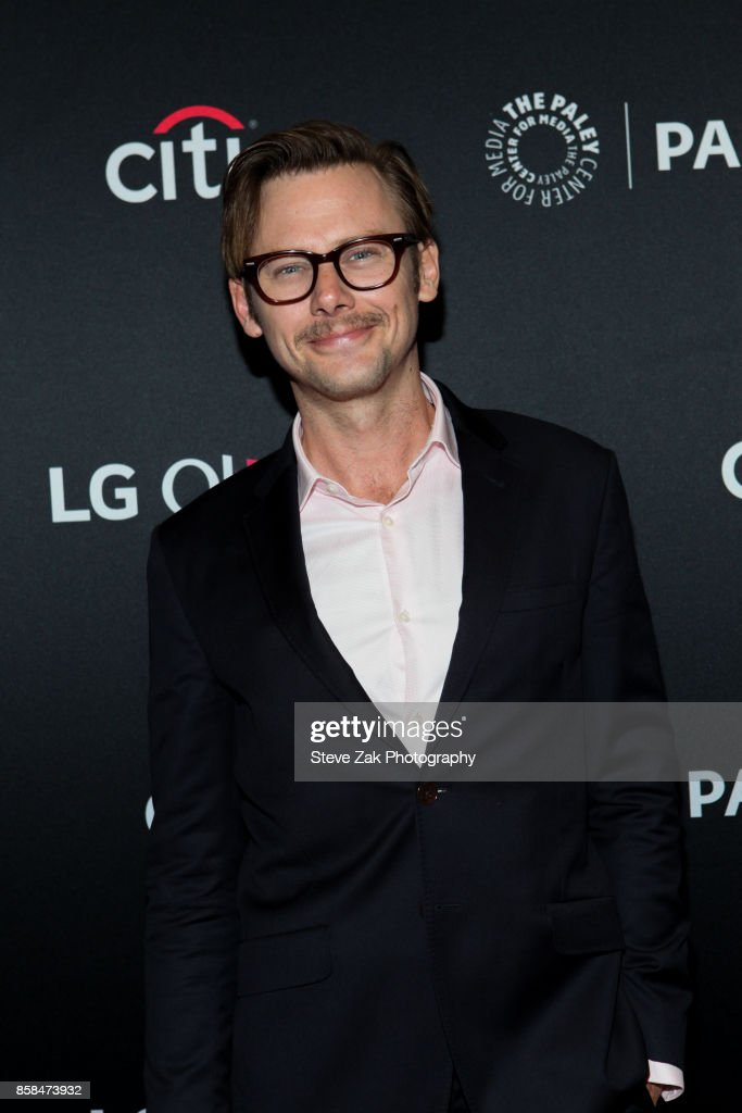 Actor Jimmi Simpson attends PaleyFest NY 2017 'Black Mirror' at The Paley Center for Media on October 6, 2017 in New York City.