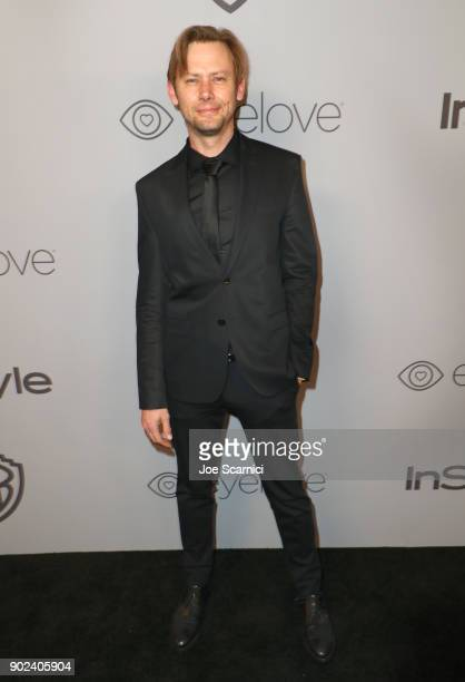 Actor Jimmi Simpson attends the 2018 InStyle and Warner Bros 75th Annual Golden Globe Awards PostParty at The Beverly Hilton Hotel on January 7 2018...