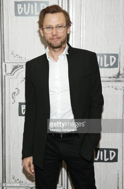 Actor Jimmi Simpson visits Build Studio to discuss 'Unsolved The Murders of Tupac and the Notorious BIG' on February 26 2018 in New York City