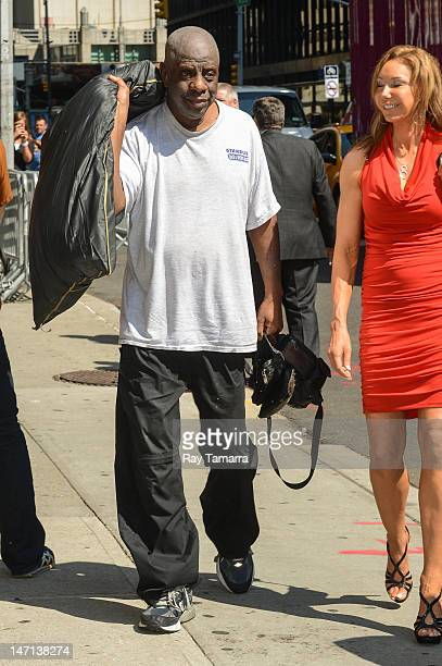 Actor Jimmie Walker enters the 'Late Show With David Letterman' taping at the Ed Sullivan Theater on June 25 2012 in New York City