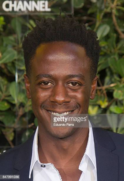 Actor Jimmy Castro attends the National Geographic Channel 15th Anniversary photocall at the EEUU embassy on July 14 2016 in Madrid Spain