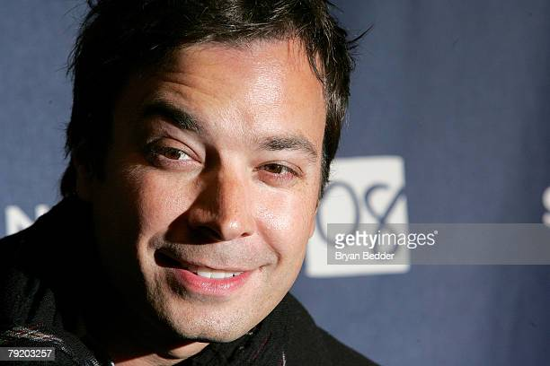 Actor Jimmy Fallon arrives at the 'The Year Of Getting To Know Us' premiere held at Eccles Theatre during the 2008 Sundance Film Festival on January...