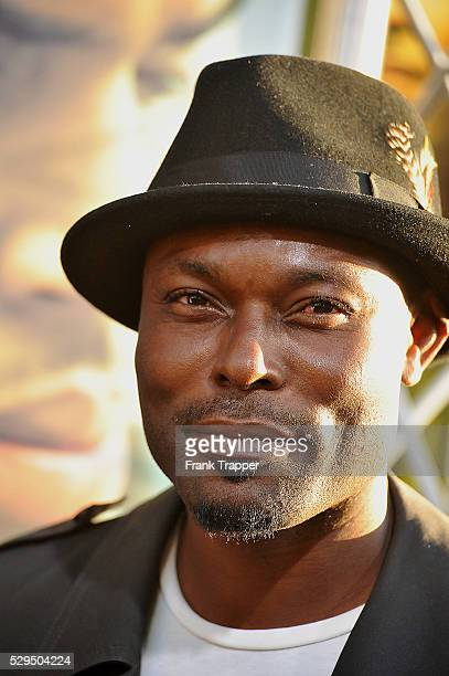Actor Jimmy Jean Louis arrives at Screen Gems' Takers World Premiere held at the Arclight Cinema Cinerama Dome in Hollywood