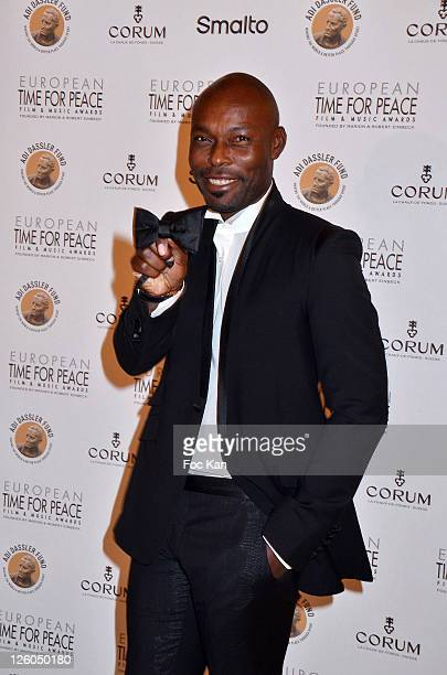 Actor Jimmy Jean Louis attends the 'European Time For Peace Awards' at the Hotel Ritz on December 10 2010 in Paris France