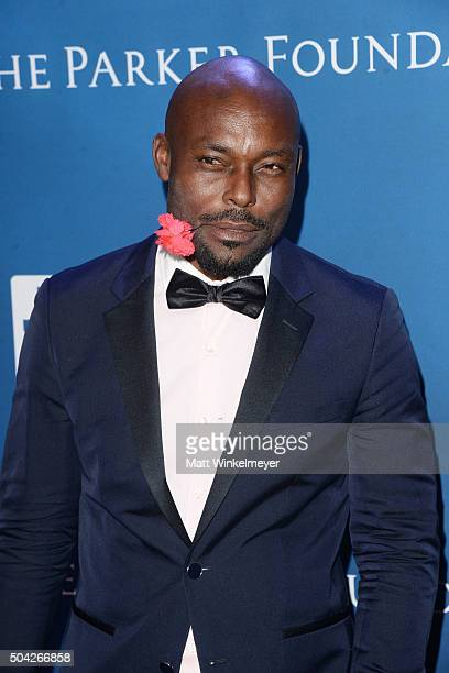 Actor Jimmy JeanLouis arrives at the 5th Annual Sean Penn Friends HELP HAITI HOME Gala benefiting J/P Haitian Relief Organization at Montage Hotel on...